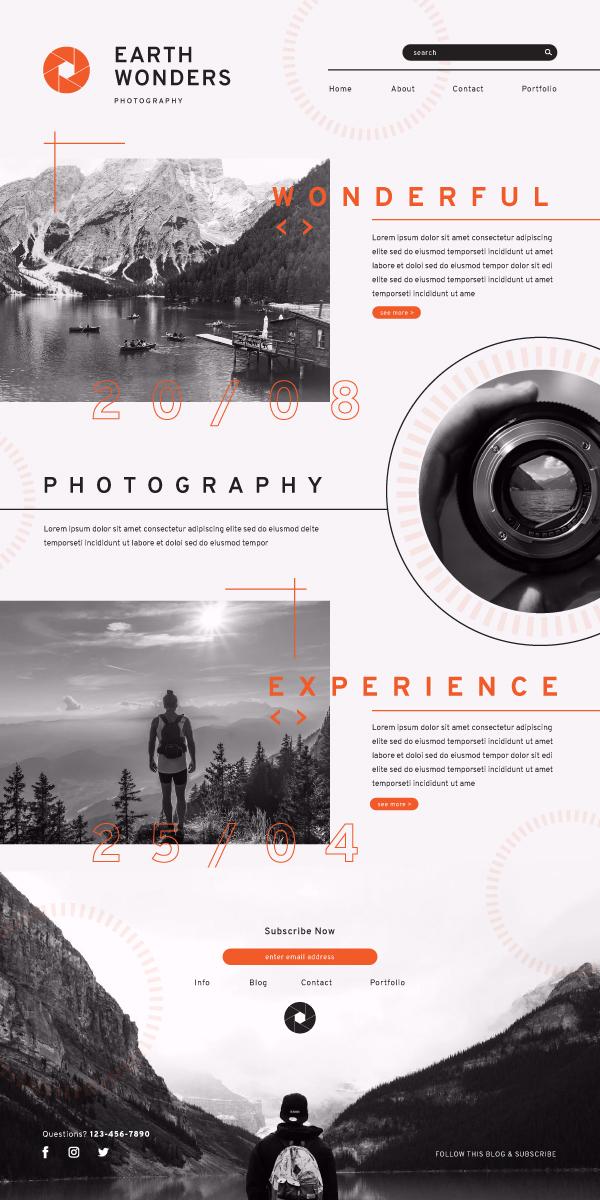 660820 Website Photography Blog Showcase 600x1200